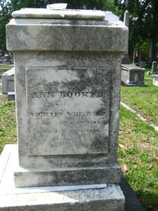 Ann Booker Whitfield 1792 - 1846