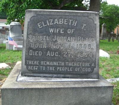 Elizabeth T. Blair 1800 - 1874