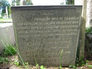 Walter D. Blair 1797 - 1878