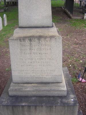 William Evans 1789 - 1854